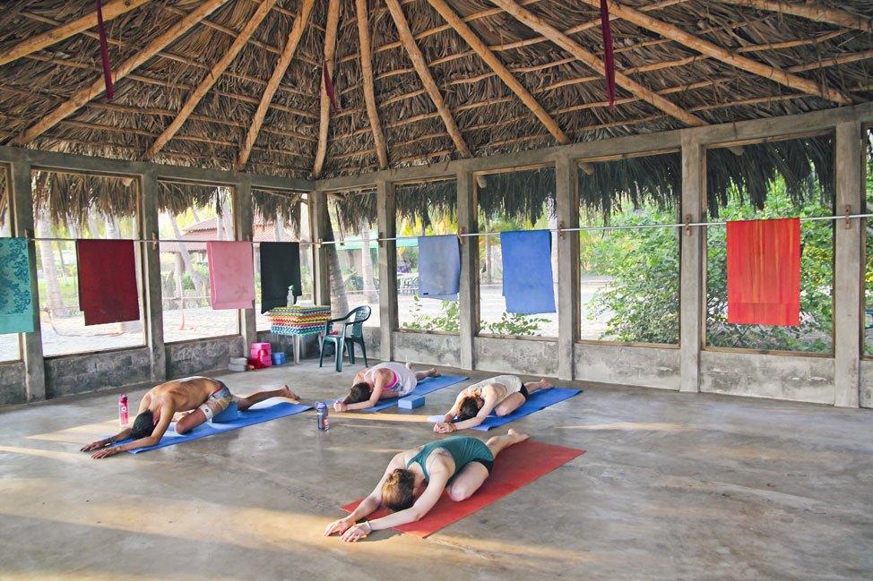 Yoga at La Tortuga Verde