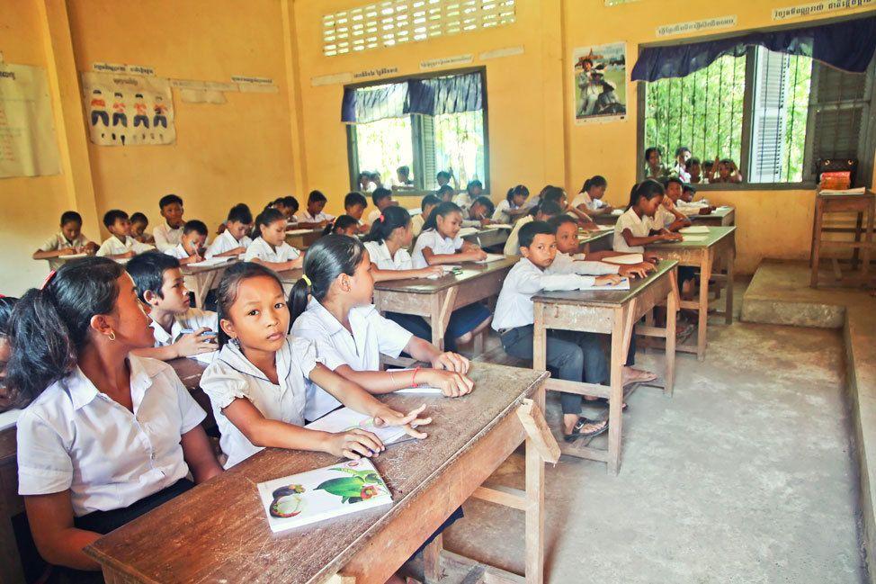 Building a School in Rural Cambodia