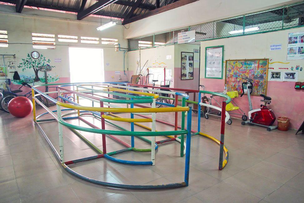 The Kien Khleang Rehabilitation Clinic