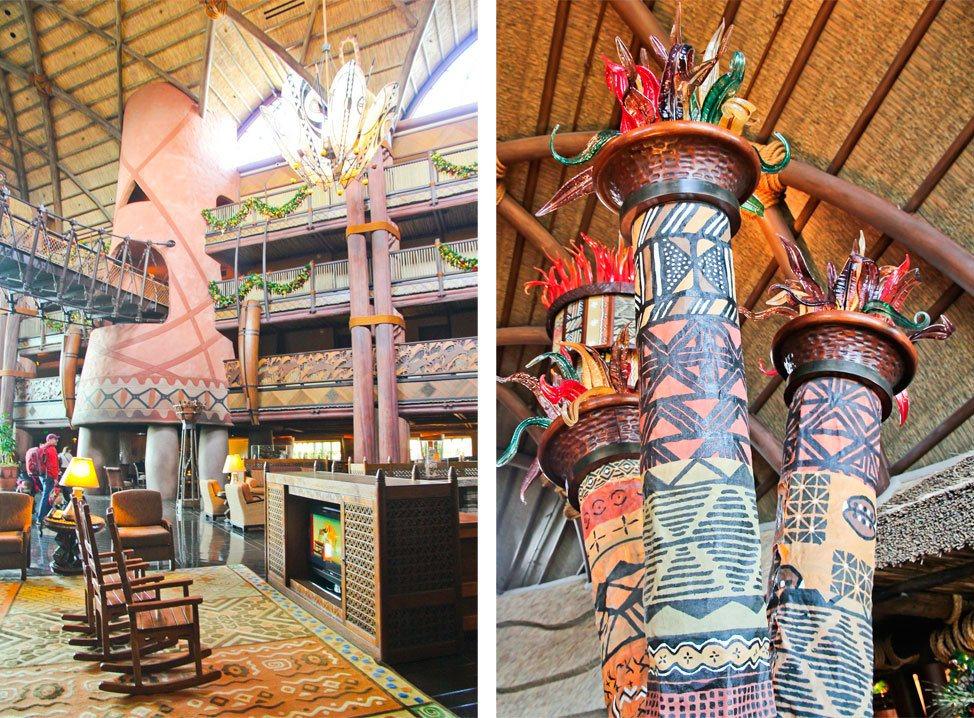 Animal Kingdom Lodge Kidani Village Lobby