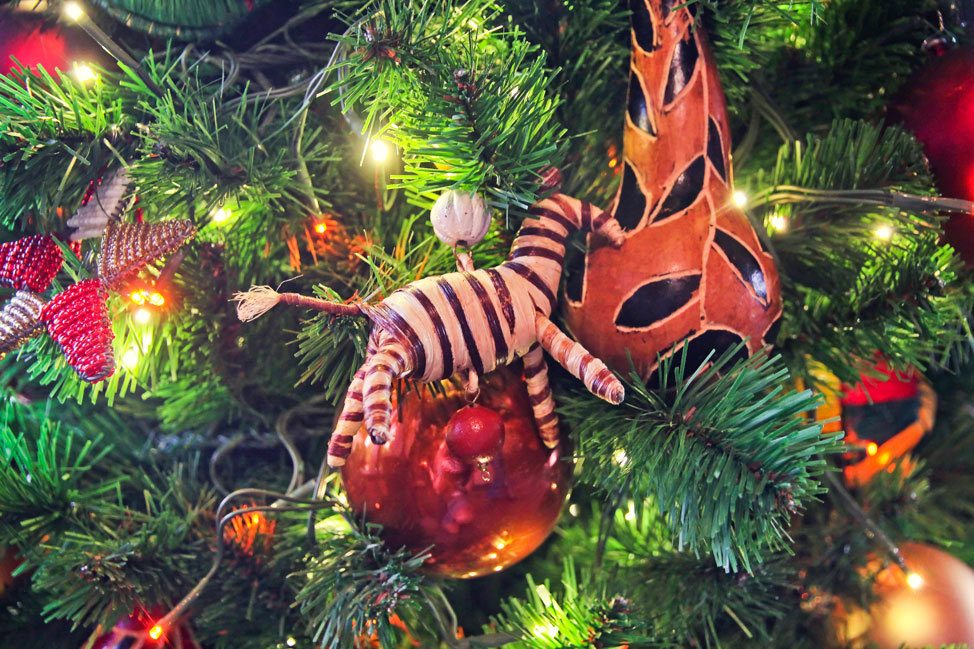 Animal Kingdom Lodge Kidani Village Christmas Decorations