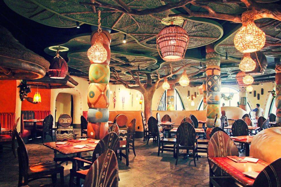 Animal Kingdom Lodge Kidani Village Sanaa Restaurant