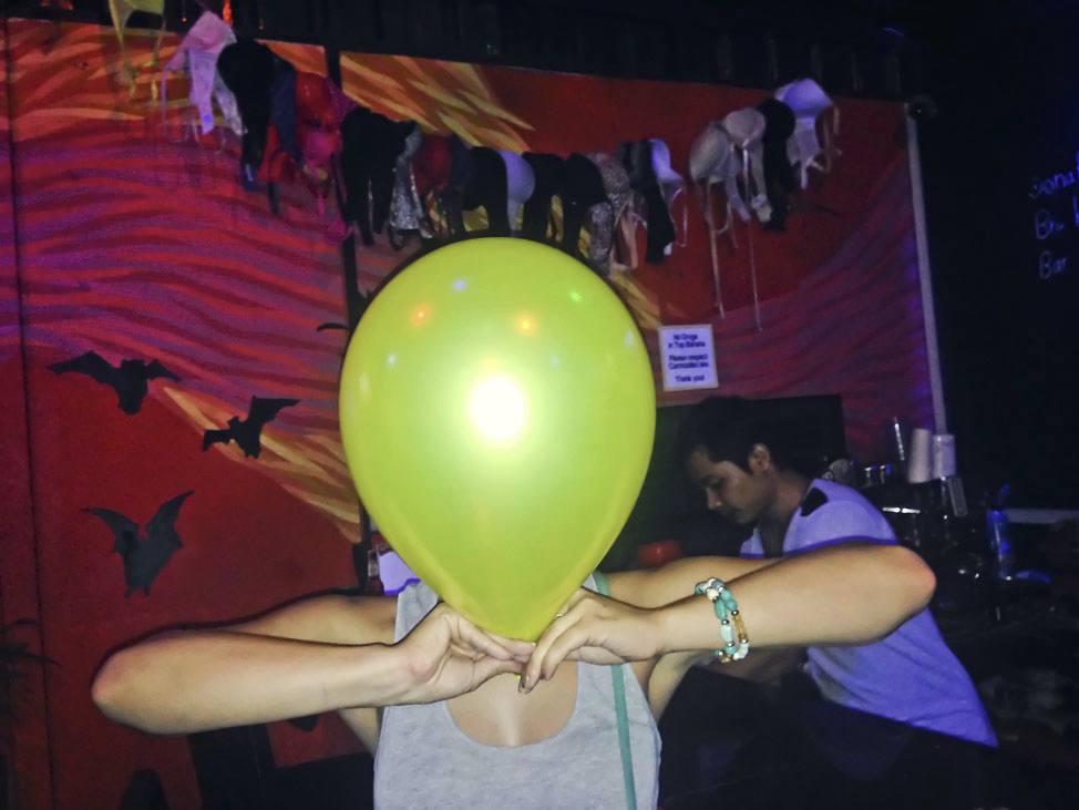 Laughing Gas Balloon Phnom Penh
