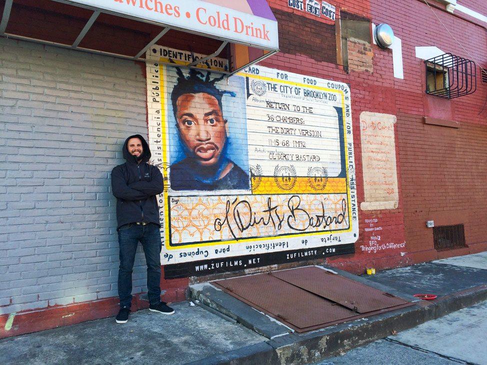 ODB Mural Brooklyn
