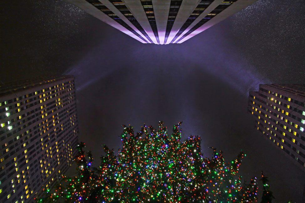 Rockafeller Center at Christmas