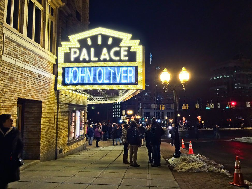 John Oliver at The Palace Albany