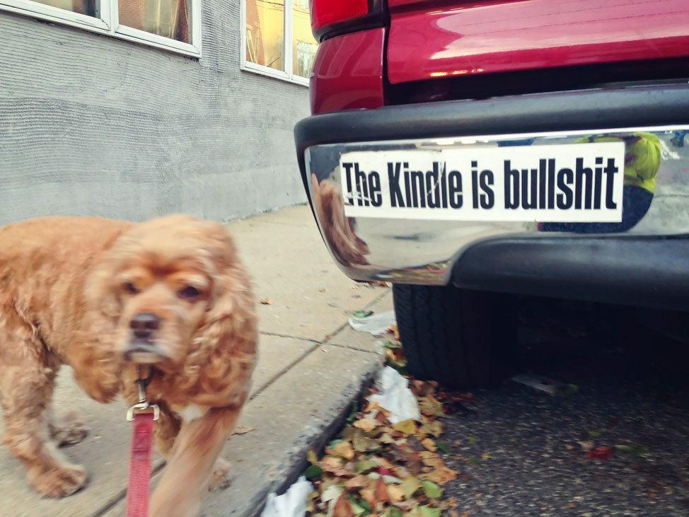 The Kindle is Bullshit