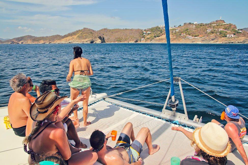 San Juan del Sur Catamaran Ride