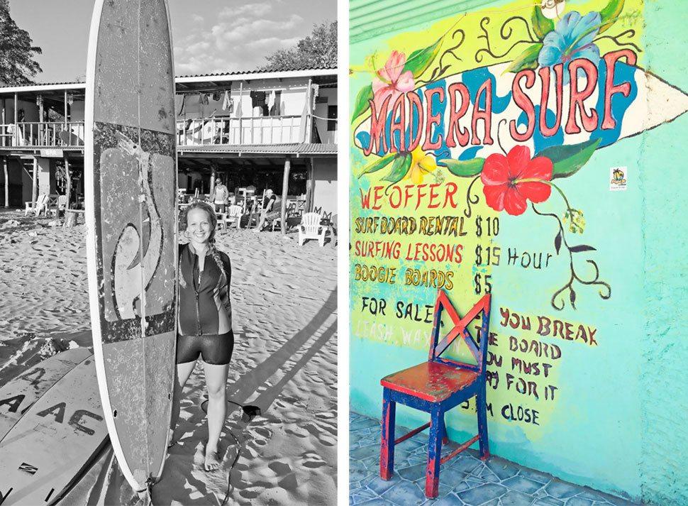Surfing San Juan del Sur