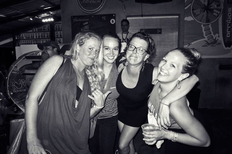 Partying in San Juan del Sur