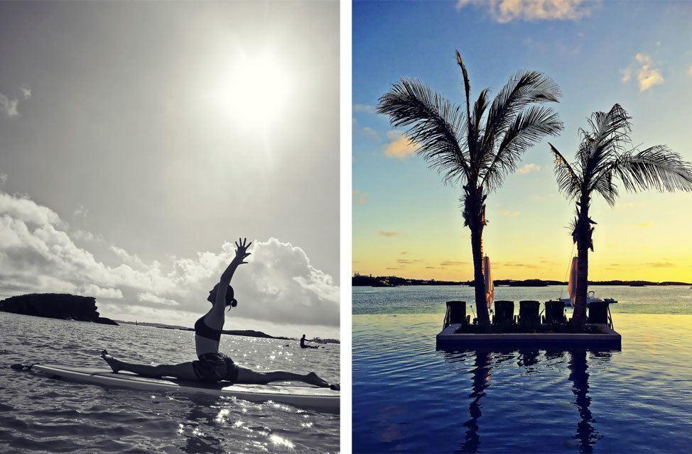 SUP Yoga Bermuda