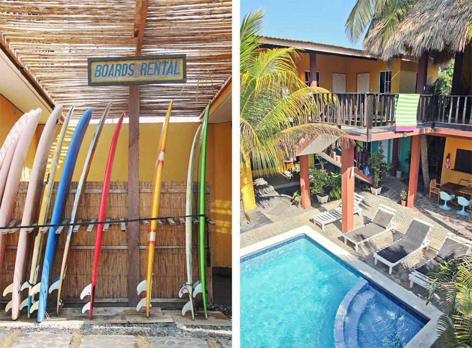 Papaya Lodge El Tunco