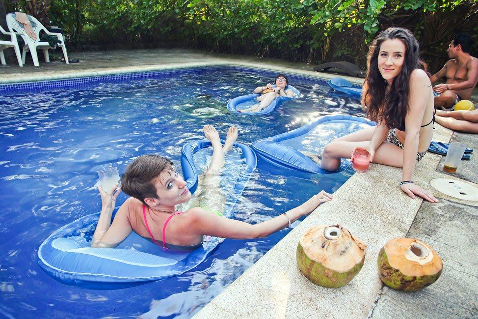 Pool Party in El Salvador