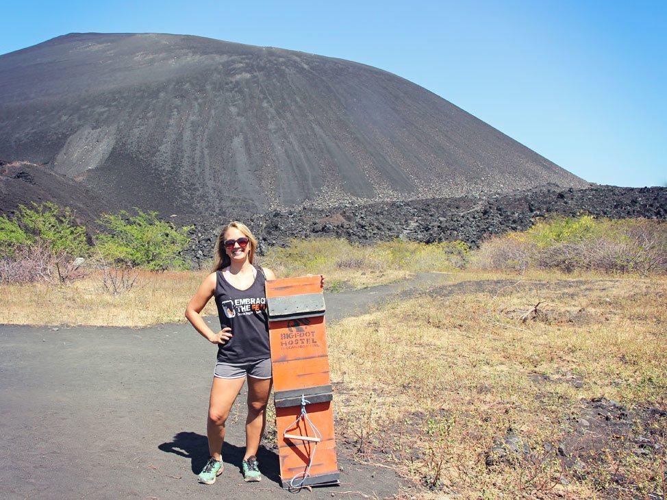 Volcano Boarding with Bigfoot Hostel