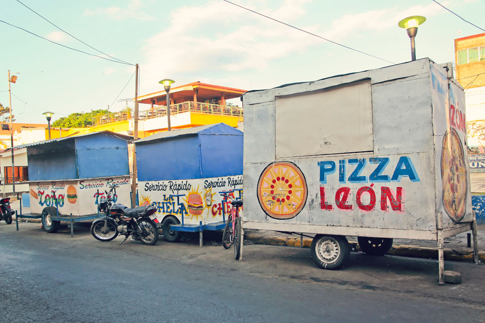 Street Food in Leon, Nicaragua