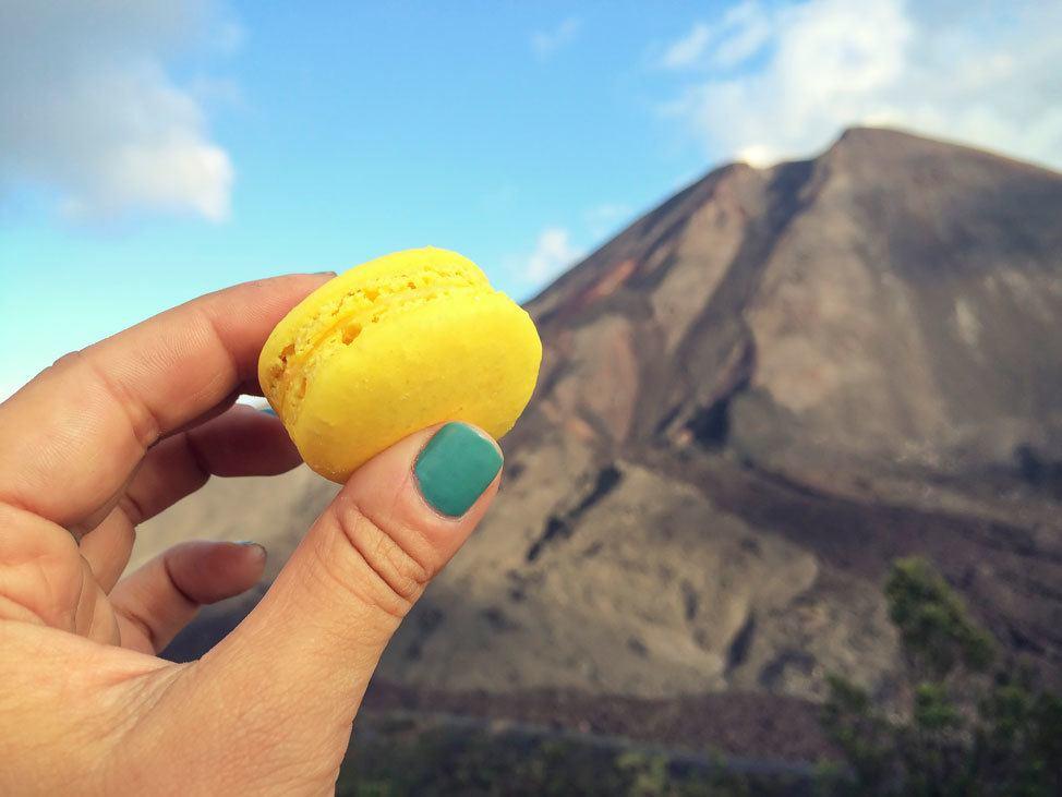 Climbing Pacaya