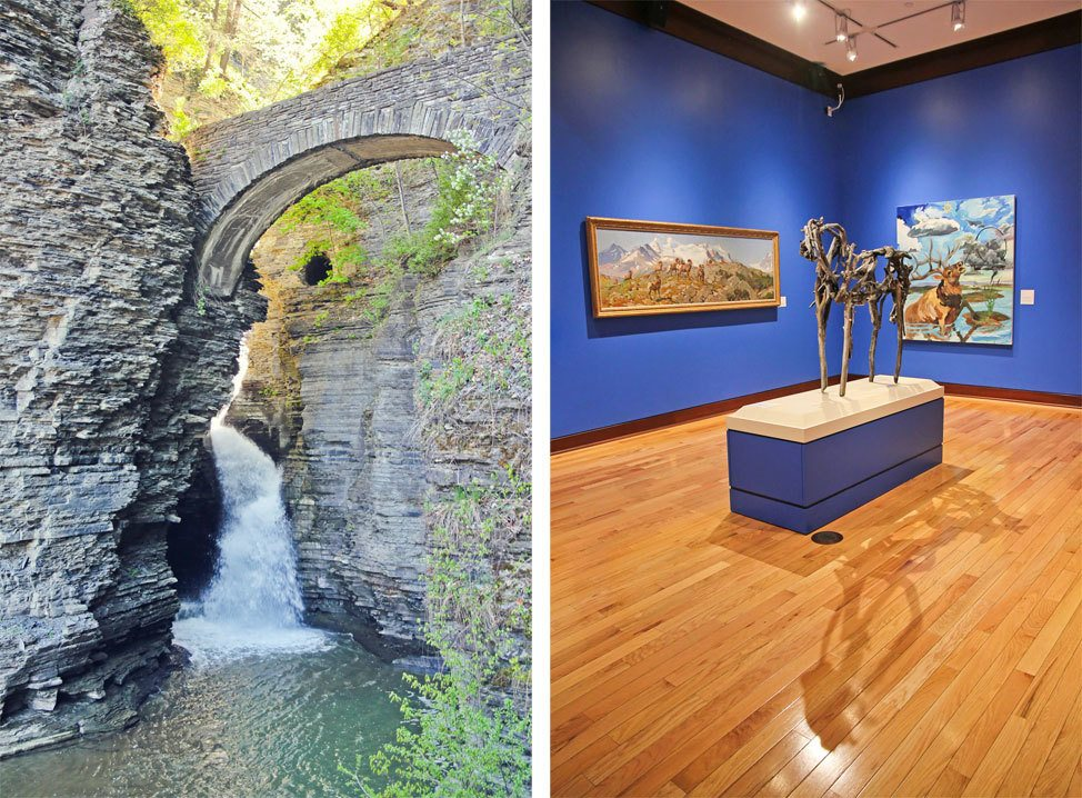 Watkins Glen and The Rockwell Museum