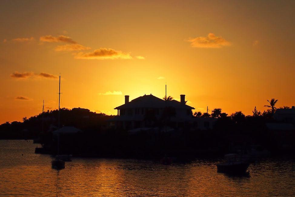 Sunset over Hamilton Harbor