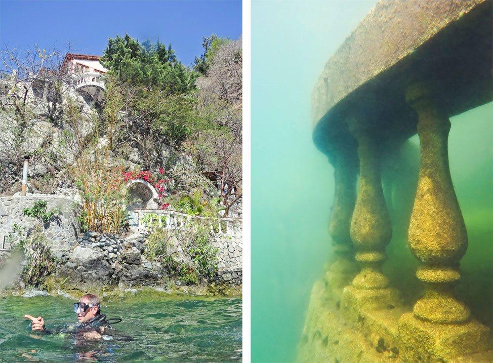 Diving Lake Atitlan