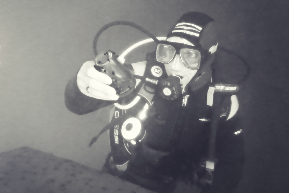 High Altitude Lake Diving Guatemala