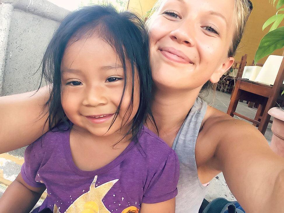 Kids at Tikal, Guatemala