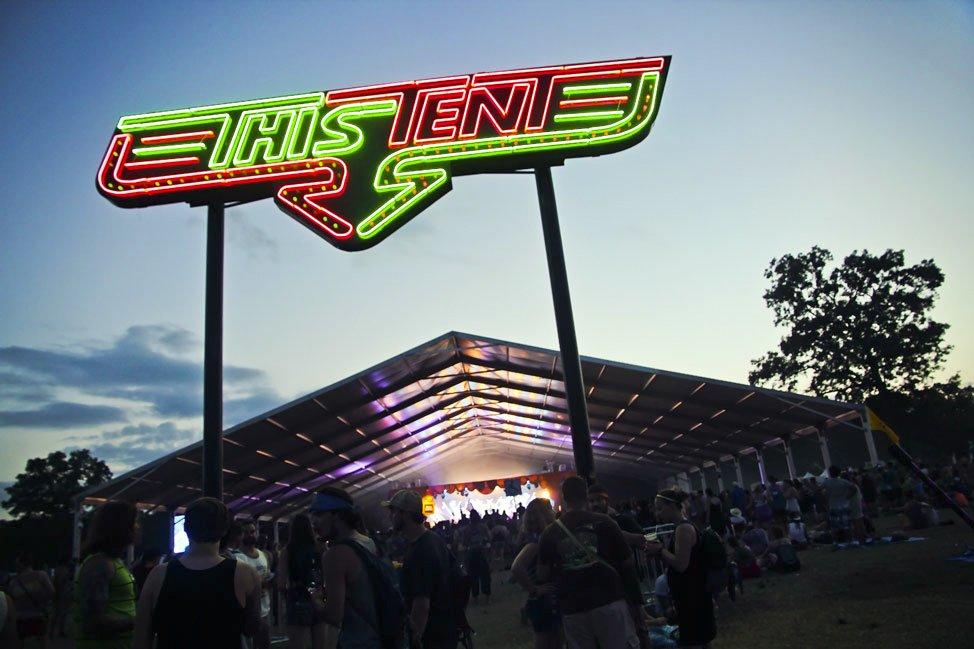 This Tent at Bonnaroo