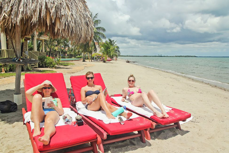 The Beach in Hopkins, Belize