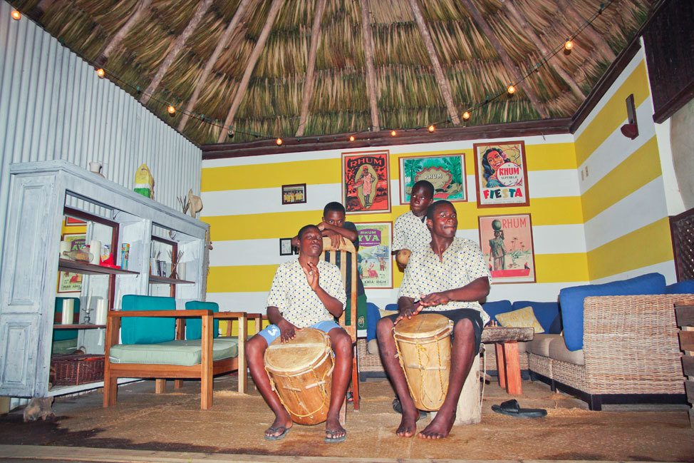 Garifuna Drumming in Hopkins, Belize