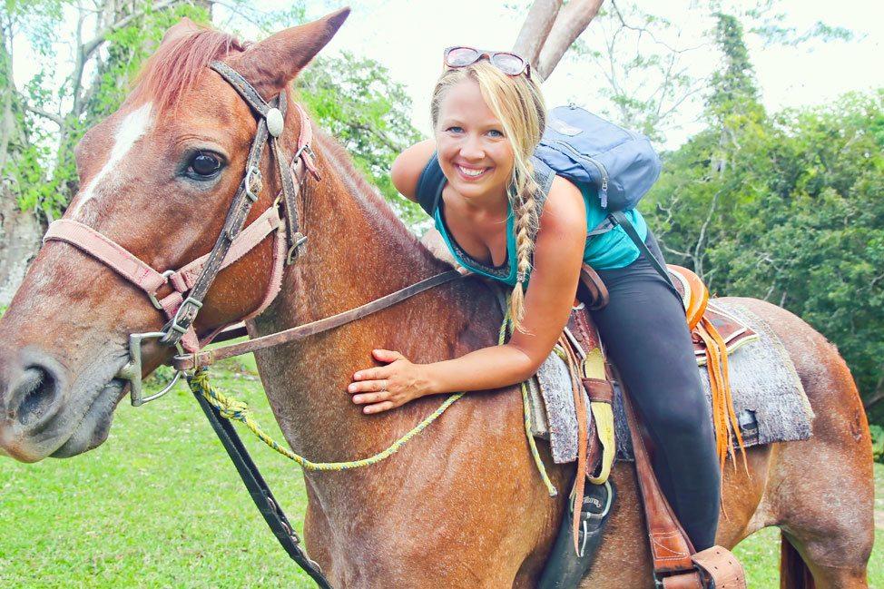 Horseback Riding Xunantunich