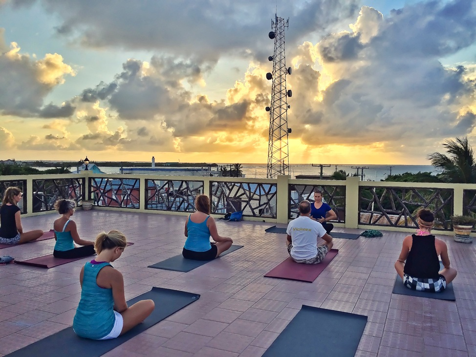 Caye Caulker Yoga