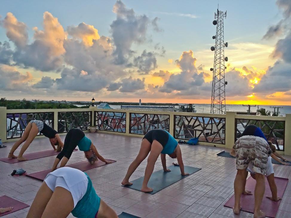 Caye Caulker Yoga