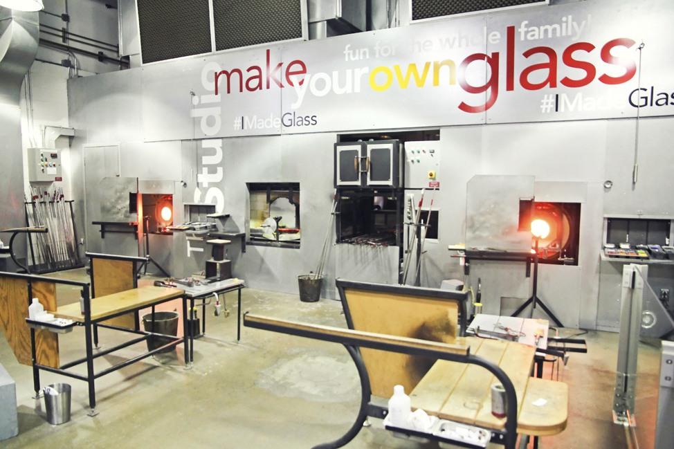 Glass Blowing Class Corning