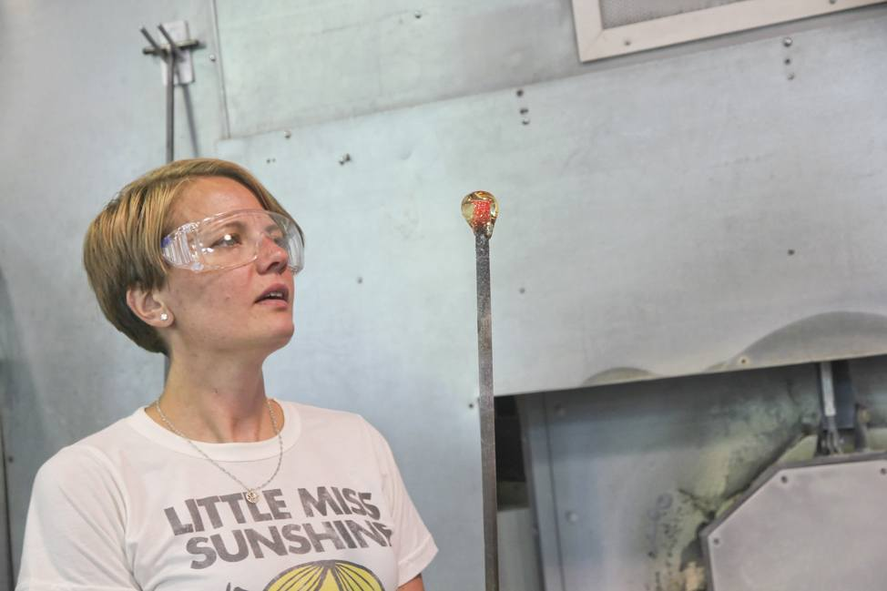 New York Glassblowing Class