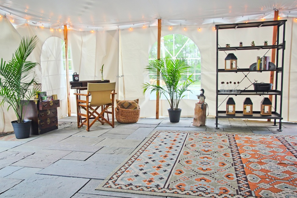 Firelight Camps Lobby Tent