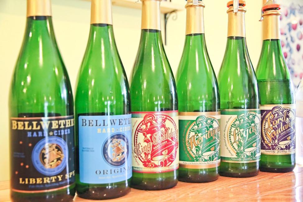Bellwether Cider Tasting