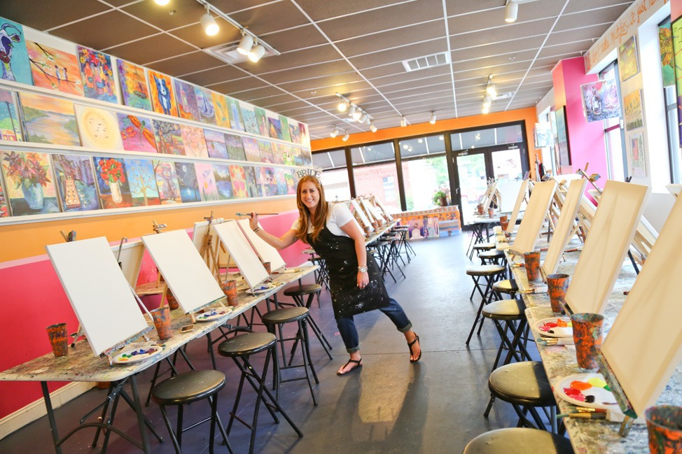 Paint and Sip Saratoga