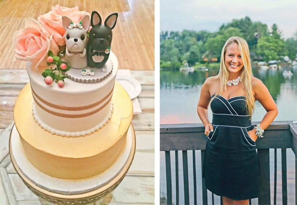 Wedding at Crooked Lake House