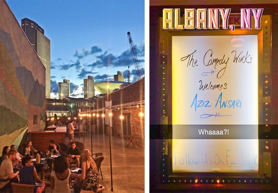 Aziz Ansari in Albany