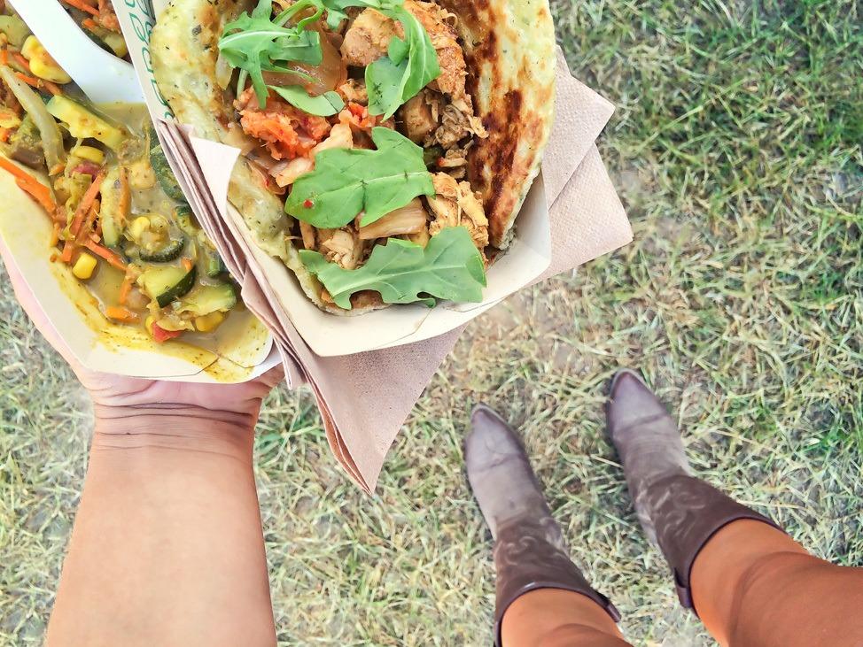 Food at Bonnaroo
