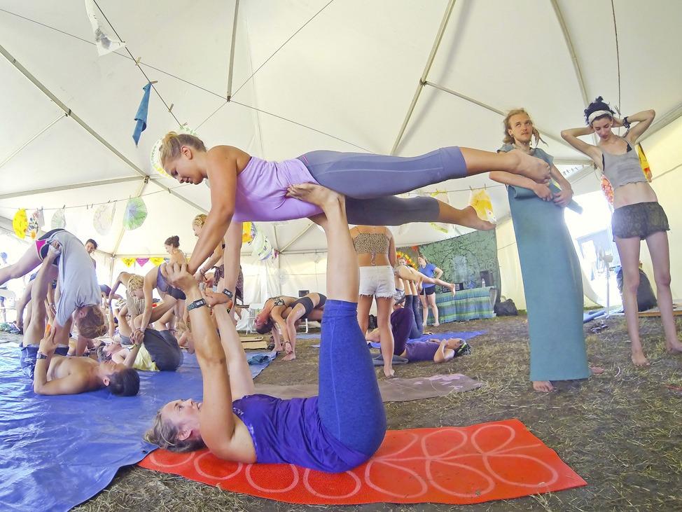 Bonnaroo Yoga