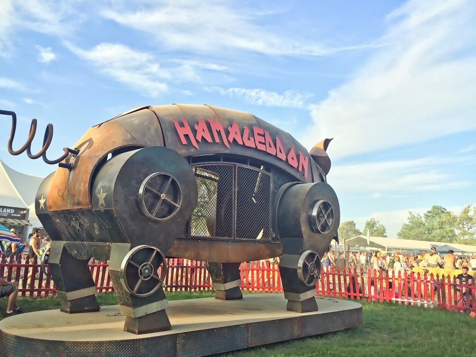 Hamageddon at Bonnaroo