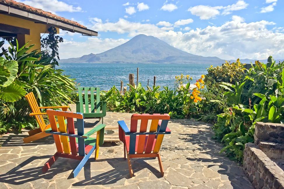Hostel in Lake Atitlan, Guatemala