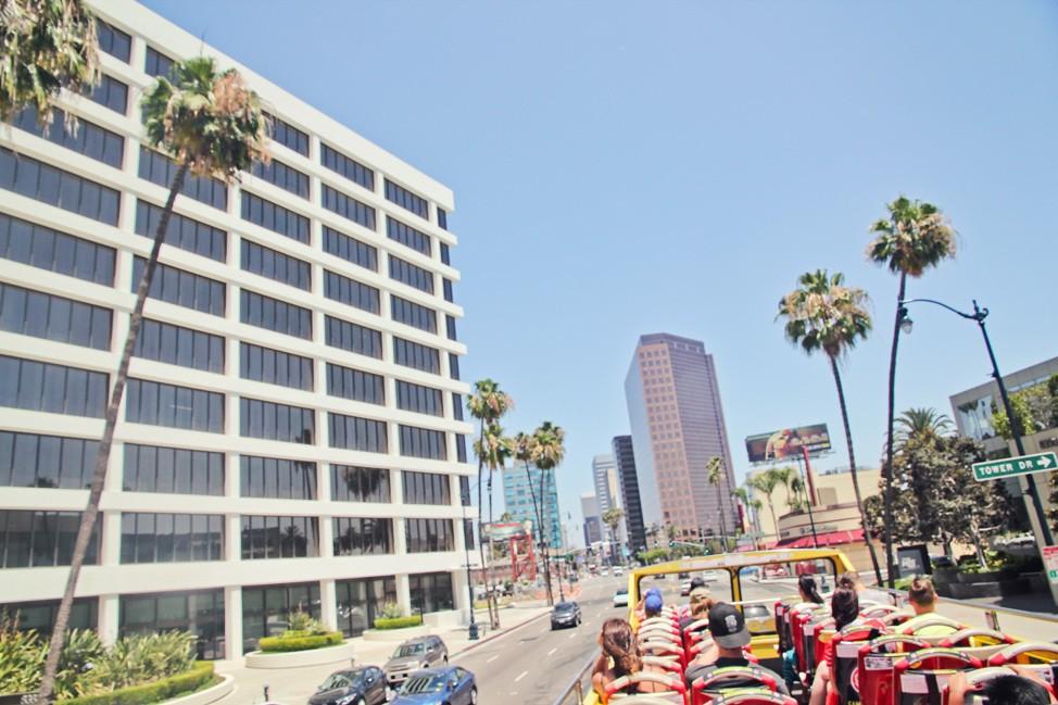 Open Top Bus Tour Los Angeles