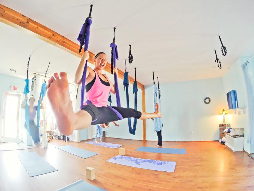 Aerial Yoga Martha's Vineyard