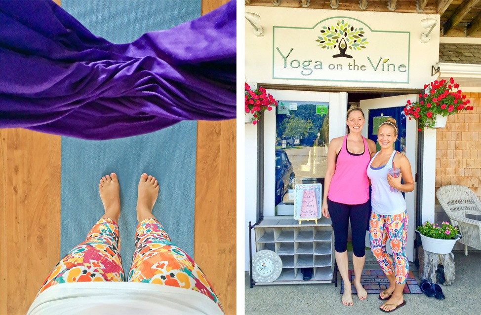 Yoga on the Vine Martha's Vineyard