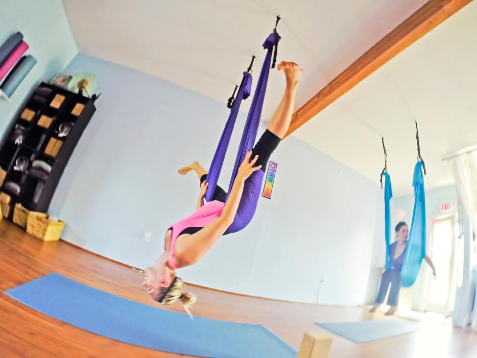 Aerial Yoga Yoga on the Vine