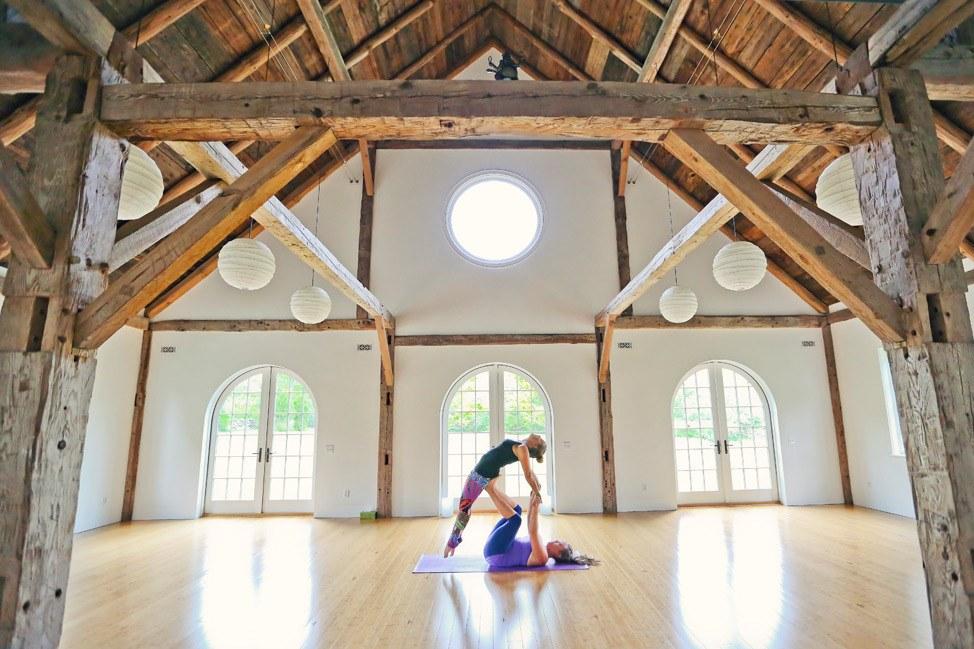 Yoga at Yoga Barn