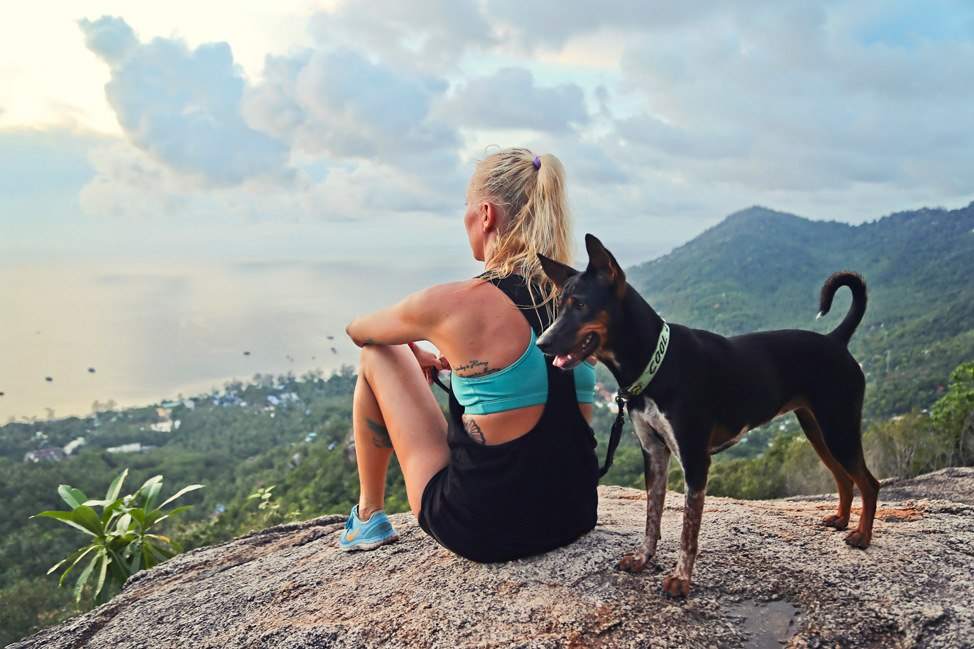 Hiking in Koh Tao