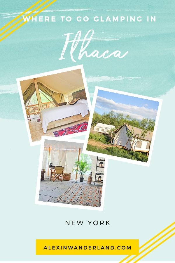 How to go glamping in Ithaca New York | ithaca travel, things to do in ithaca ny