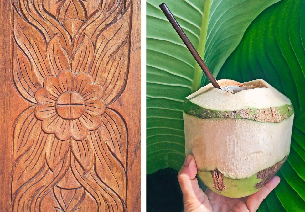 Fresh Coconuts on Koh Tao
